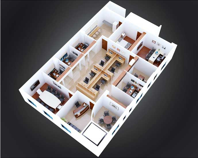 Before-2D-3D Floor Plan